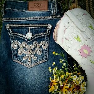 LA Idol BLING Cowgirl Rodeo jeans